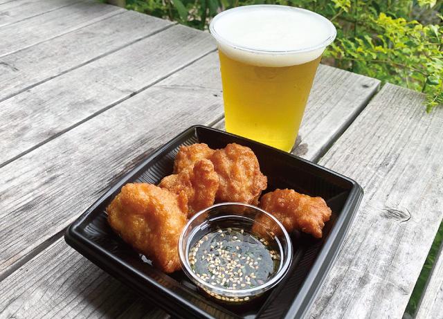 楽寿園内売店ピクニック